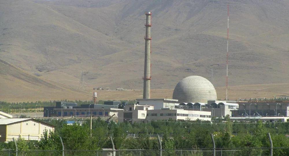▲资料图片:伊朗阿拉克核反应堆外景(俄罗斯卫星网)