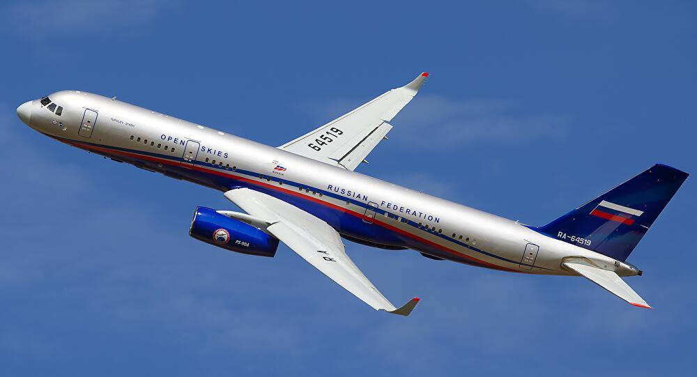 美突然禁止俄新侦察机按天空条约执飞 未解释缘由