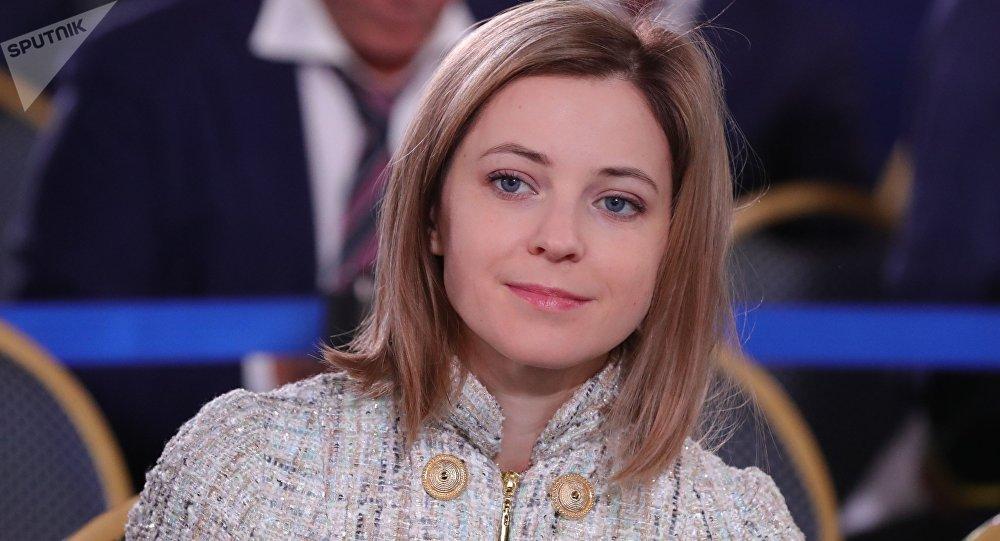 波克隆斯卡娅(图源:俄罗斯卫星通信社)