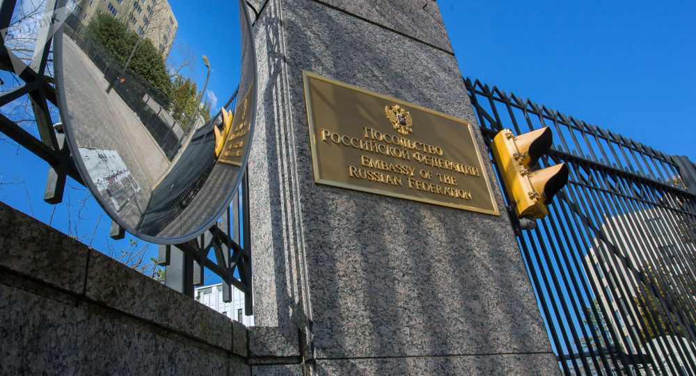 俄驻美使馆向美方喊话:停止干涉俄罗斯内政
