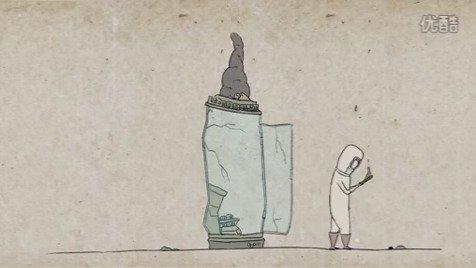 《低头人生》,一部获得了2014年中央美术学院年度一等奖的视频短