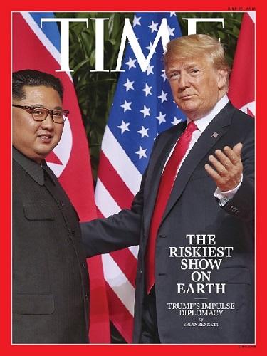 美国《时代》周刊6月25日(提前出版)一期封面