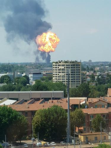 意大利博洛尼亚机场附近发生爆炸 伤亡不明(图)