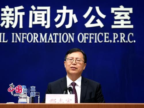 国家统计局国民经济综合统计司司长、新闻发言人邢志宏 图片来源:中国网