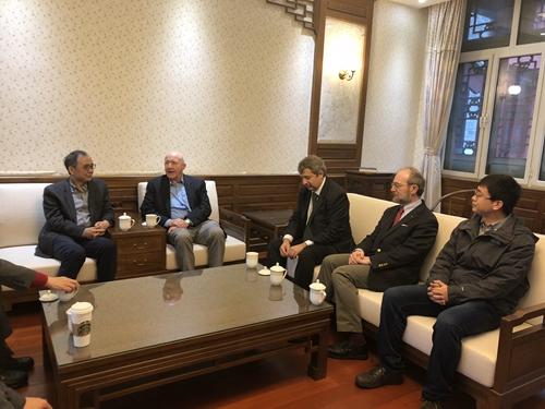 第24届世界哲学大会第二次国际执行委员会会议在北京大学召开