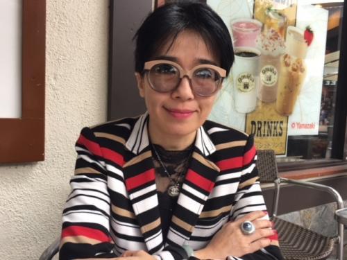 纪欣然家庭代表律师蔡玟慧表示,4名涉案罪犯可望在年底前全部有判决结果。(图片来源:美国《世界日报》记者 杨青 摄)