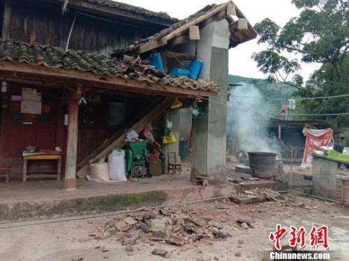 云南墨江5.9级地震受伤人数升至25人 近2.5万人受灾