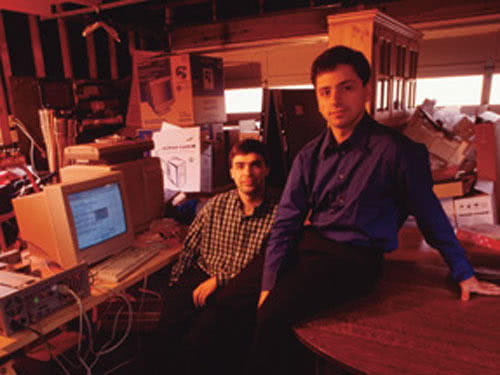 """谷歌联合创始人双双卸任,回忆谷歌的""""前世今生"""""""