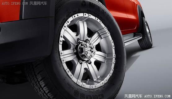 猎豹CT7新款车型上市  两款柴油手动版