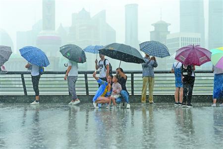"""台风""""安比""""登陆 申城经受考验应对有序"""