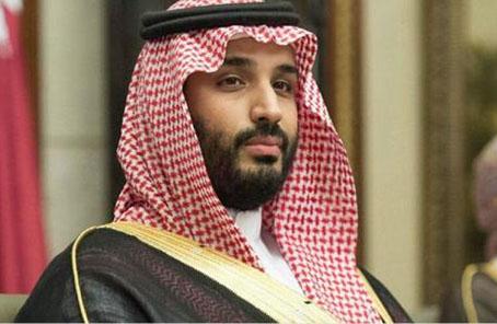 资料图:沙特王储穆罕默德·本·萨勒曼。