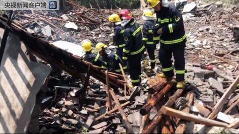 江西一花炮厂发生爆炸 已致4人死亡