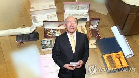 韩国前总统全斗焕(图源:韩联社)