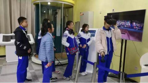 逛中科院 北京育英学校学生开启科技之旅