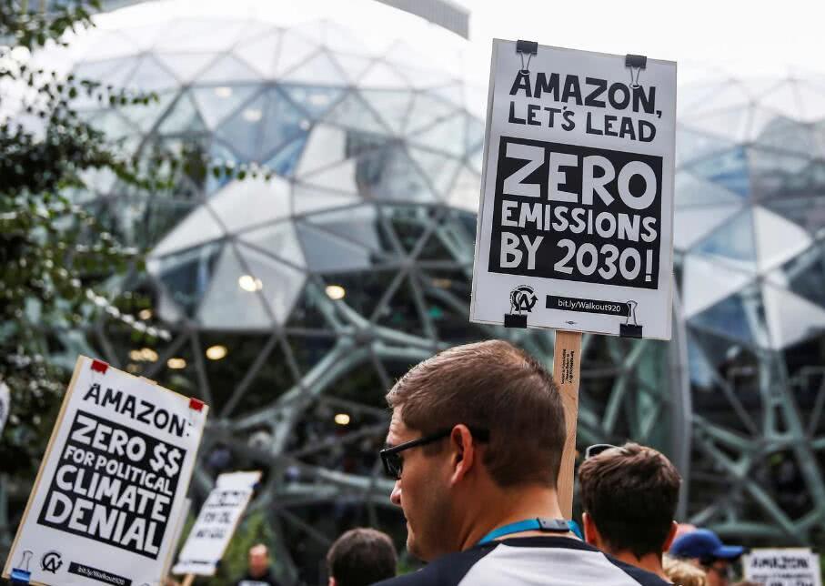 亚马逊发表政策宣言 回应环境、工作场所和数据隐私等批评