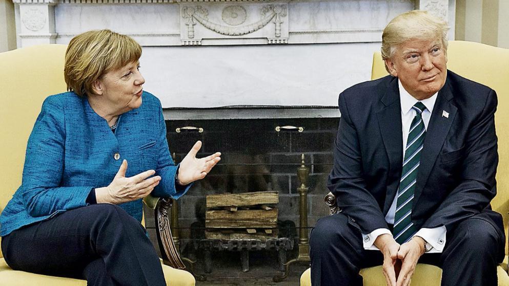 德媒:德国总理默克尔拟于本月27日访美