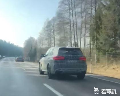 宝马X5 M Competition实车曝光