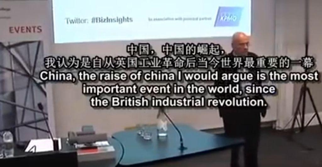 英国教授深度解读:中国崛起并不可怕,可怕的是......