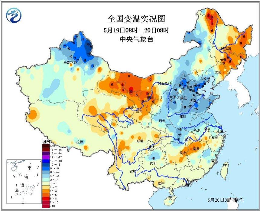 北方冷空气送清凉 四川盆地暴雨多发
