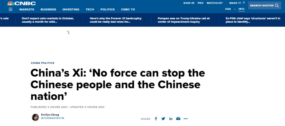 外国人看完中国大阅兵 有人表白有人@特朗普