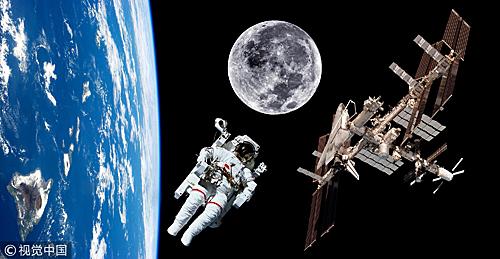 参加太空之旅的游客将面临巨大健康挑战。(视觉中国)