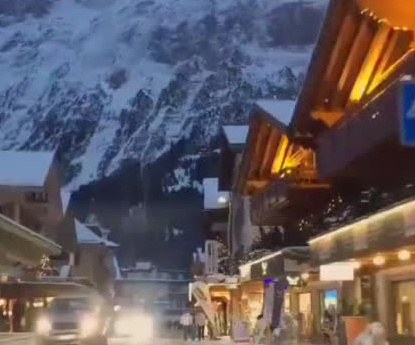 冬季的瑞士街头,美得有点虚幻!!!