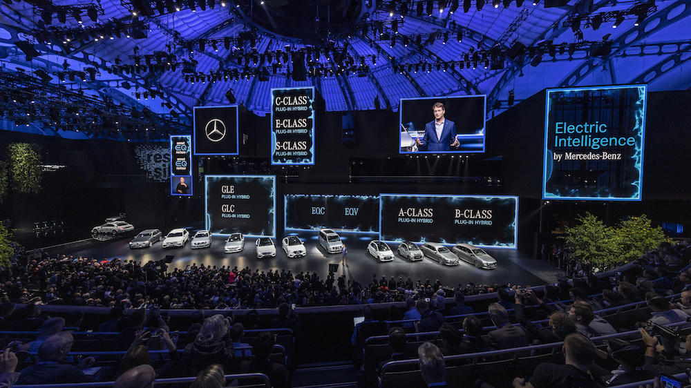 EQ品牌全面发力 电动车到2022年前覆盖奔驰所有产品线