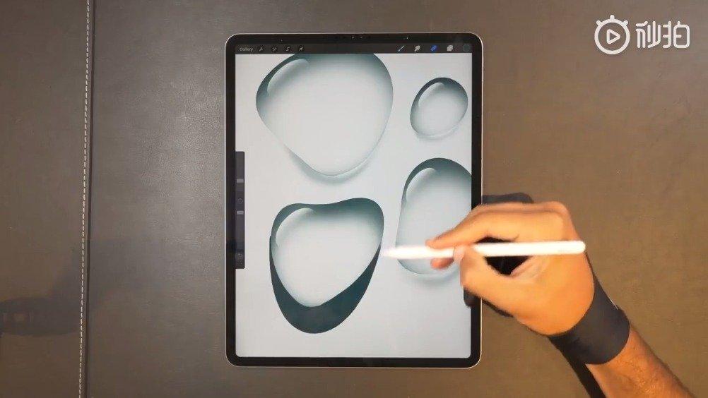 教你画个晶莹剔透的小水滴。