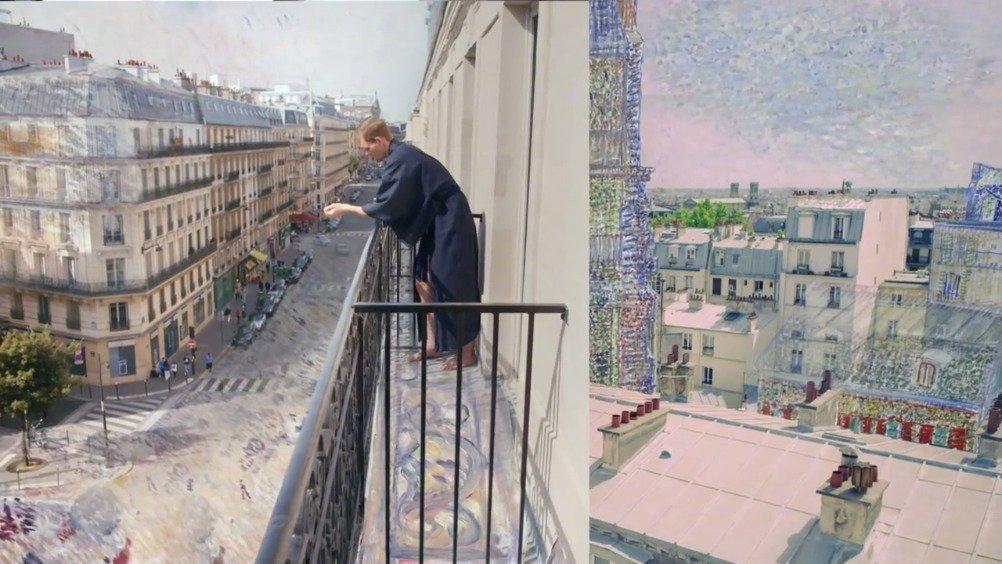 两位画家在艺术创作中的相似性