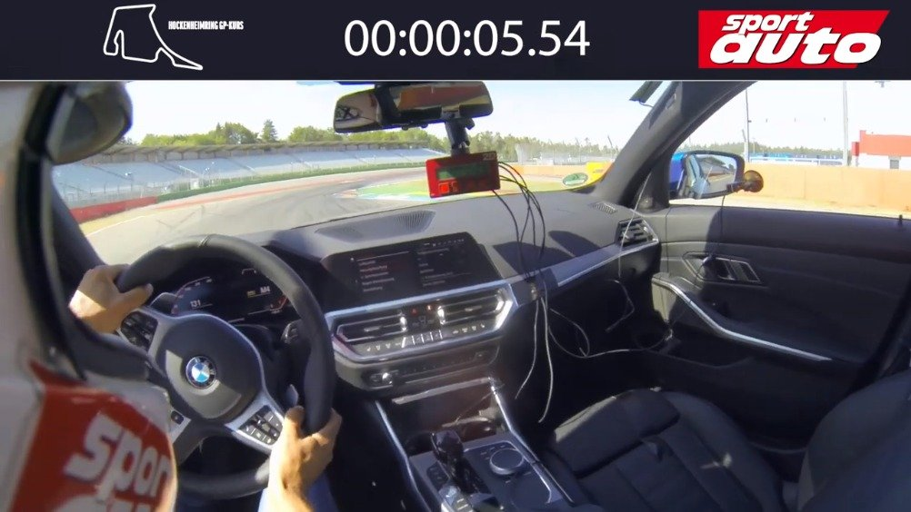 宝马 330i  刷圈 霍根海姆GP赛道 圈速2:08.70