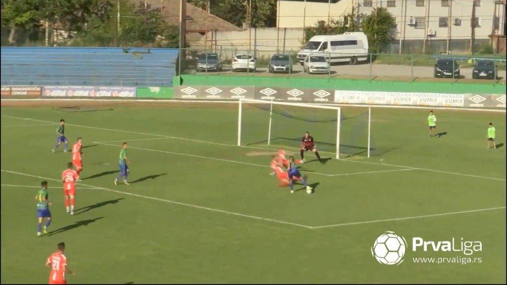 塞尔维亚甲级联赛5分钟集锦,张越首发