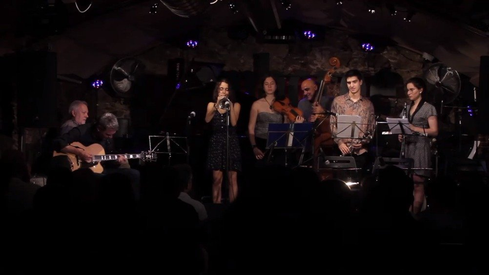西班牙JOAN CHAMORRO爵士乐队演绎In The