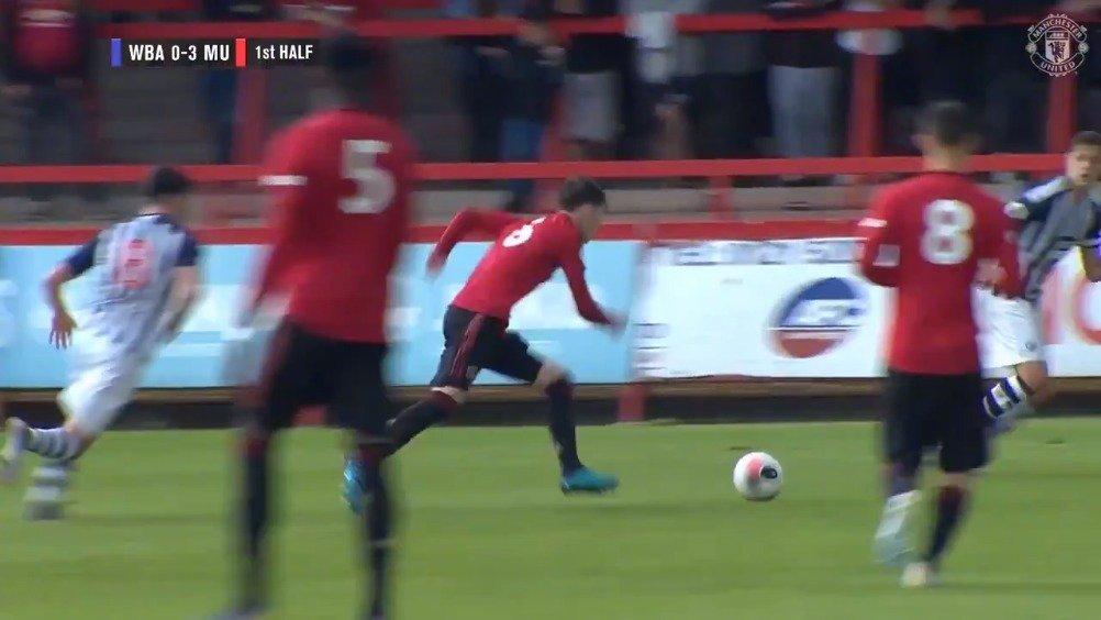 曼联U23队首轮比赛5-0大胜西布朗维奇U23队