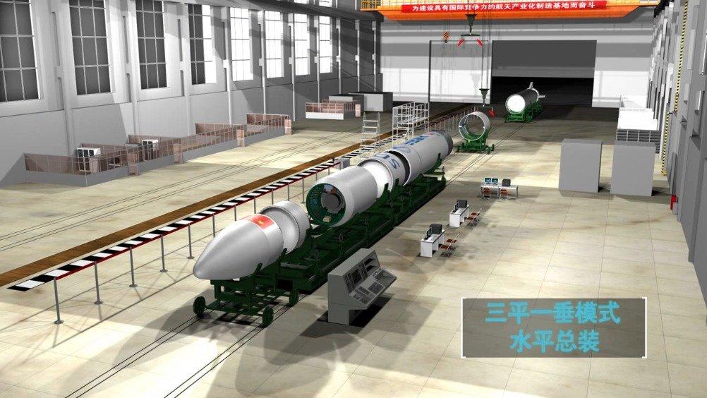 动画:捷龙一号运载火箭组装发射全过程