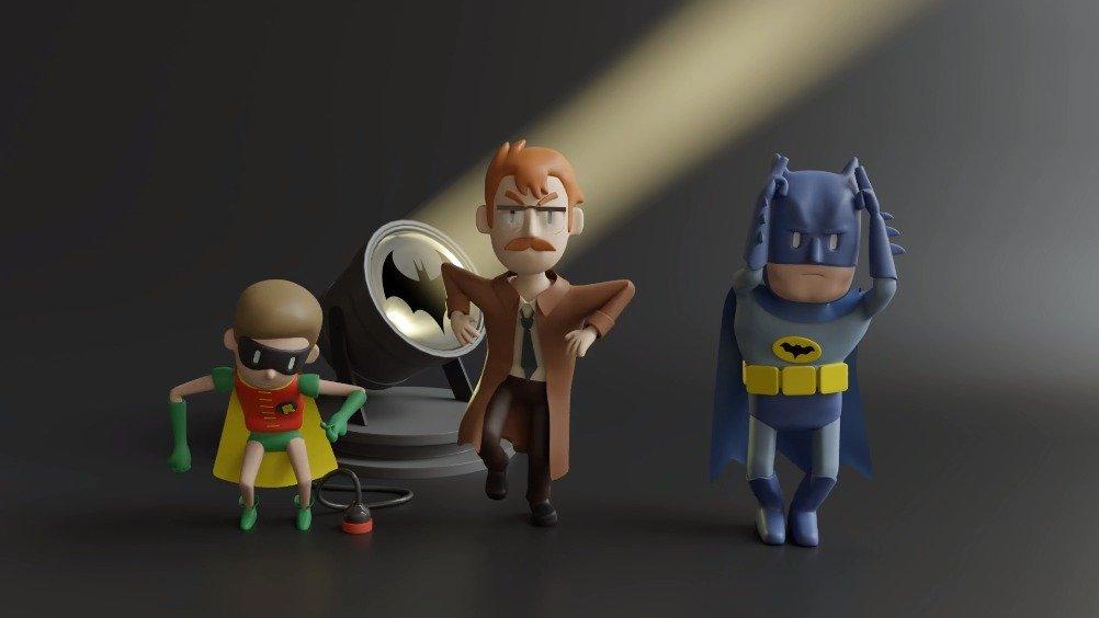 在?蝙蝠侠邀请您跳一支舞~  原视频名:Batman