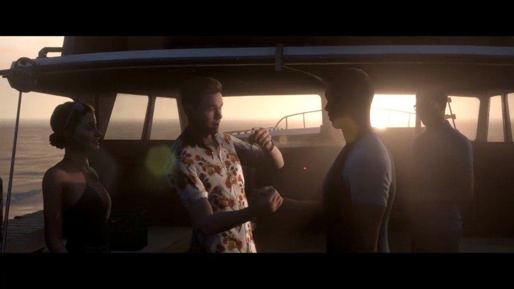 《黑相集: 棉兰号》公布发售宣传影像。本作是《直到黎明》开发商