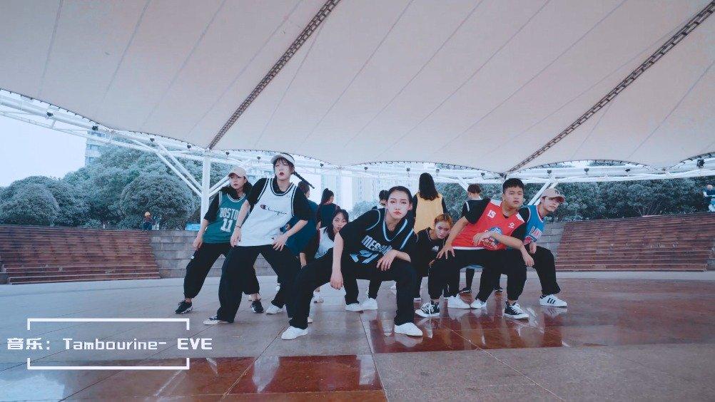 流行舞《Tambourine》,长沙暑假提高班学员太炸了