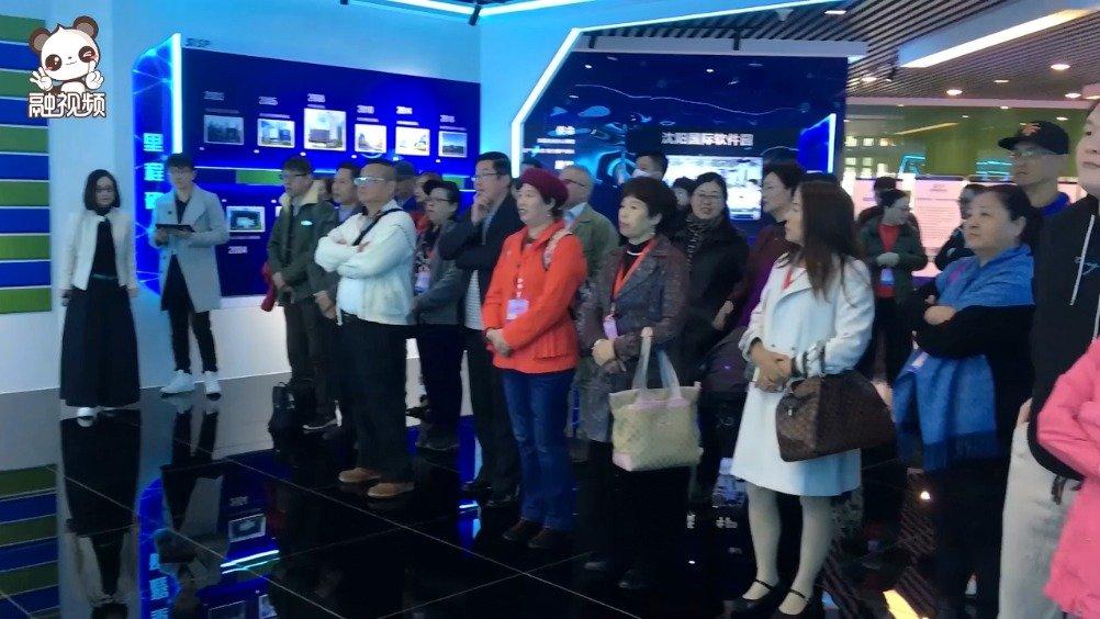 台湾创业青年参访沈阳 体验人工智能、智能网联汽车等产业