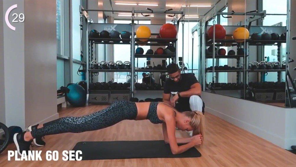 超模的腹肌训练,人家为什么这么美,是有道理的!