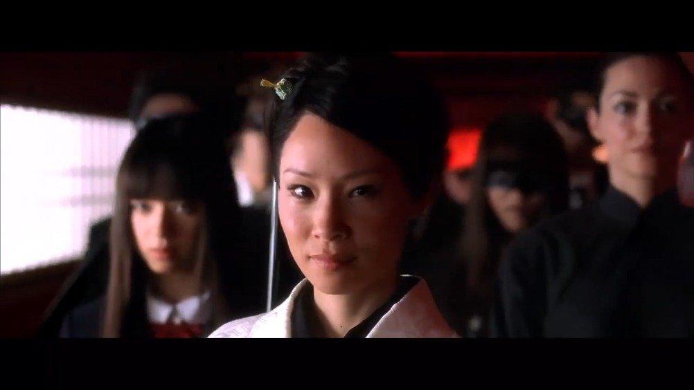 《杀死比尔》刘玉玲一出场就自带背景音乐,燃爆了。
