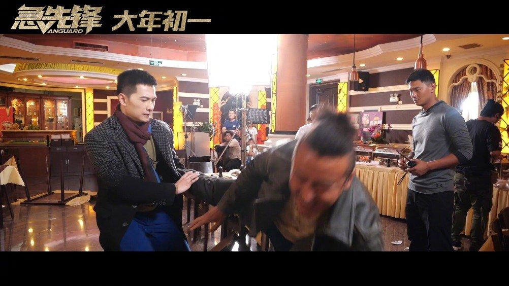 《急先锋》曝全新动作特辑 杨洋拳拳到肉艾伦榴莲爆头!