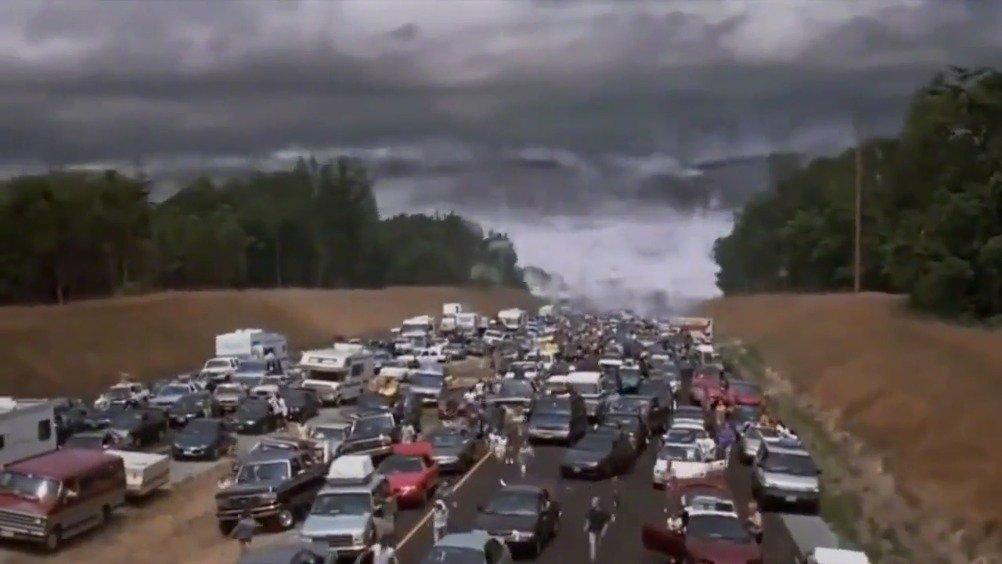 电影《末日崩塌》《天地大冲撞》《2012》《海啸奇迹》《全球