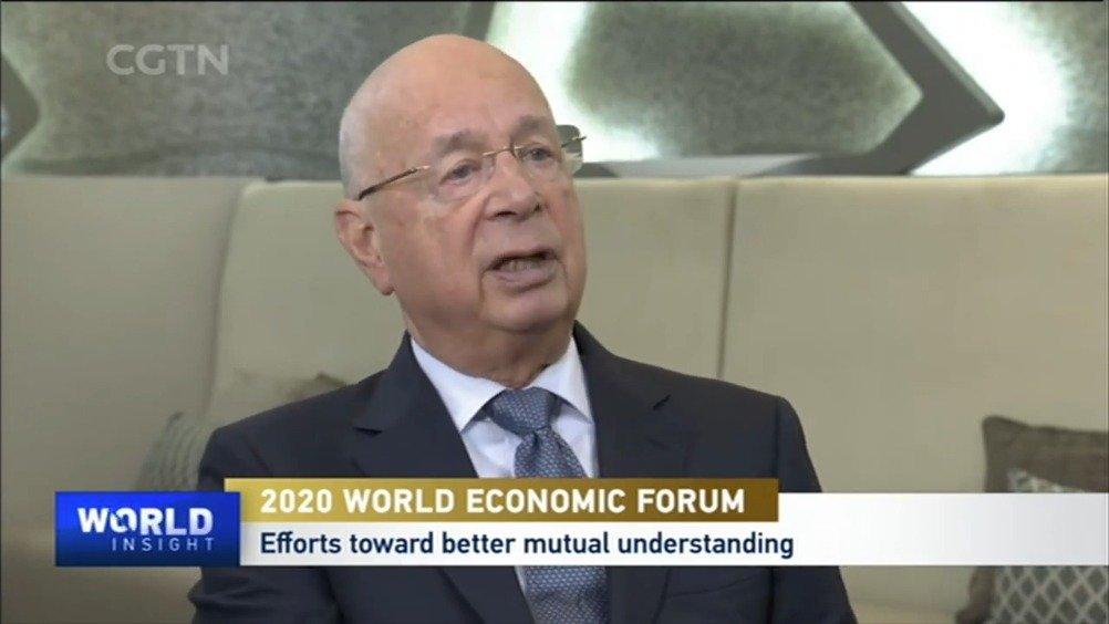 田薇专访世界经济论坛创始人施瓦布