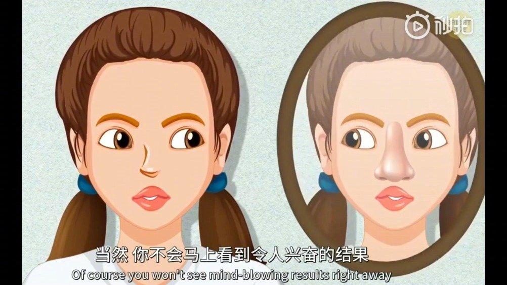 这些简单的脸部瑜伽动作,既能瘦脸又能帮你紧致肌肤减少皱纹~为