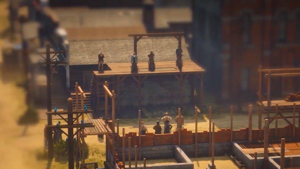 《荒野大镖客:救赎2》微缩景观摄影