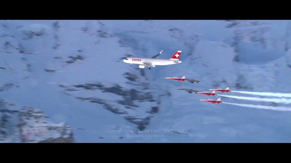瑞士巡逻兵飞行表演队