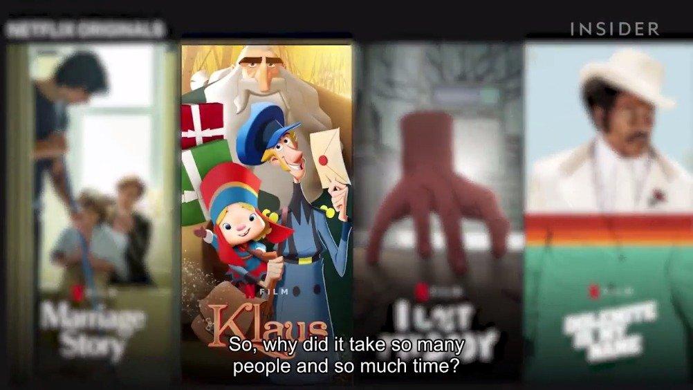《克劳斯:圣诞节的秘密》如何将2D动画电影拍出3D效果