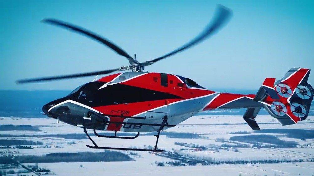 贝尔429电动抗反扭矩系统(EDAT)测试机