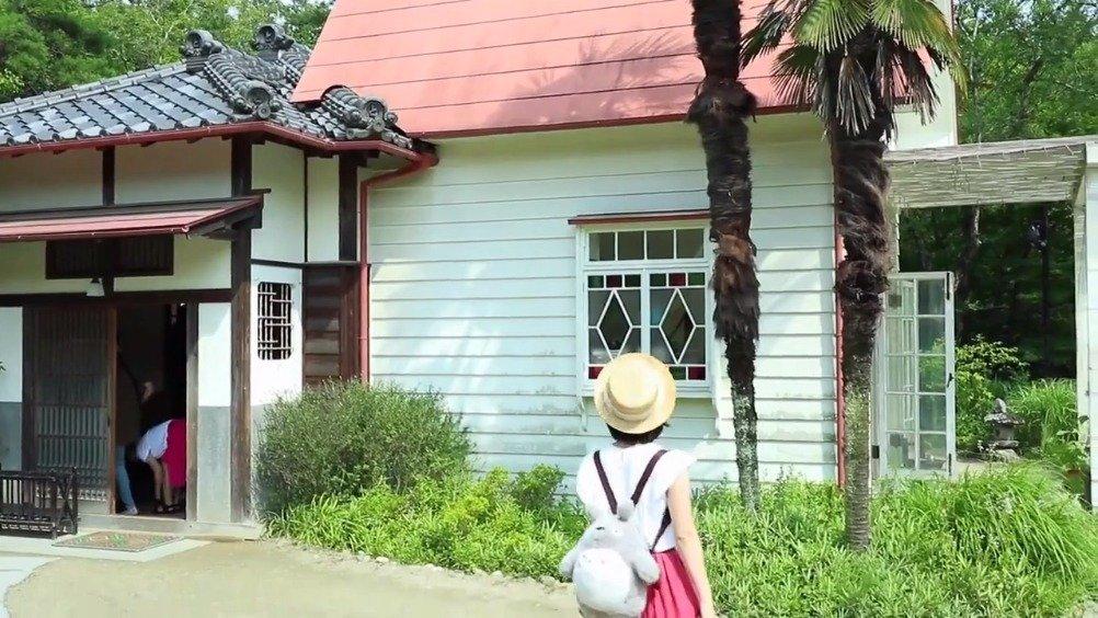 龙猫动画场景重现的名古屋小月和小梅之家