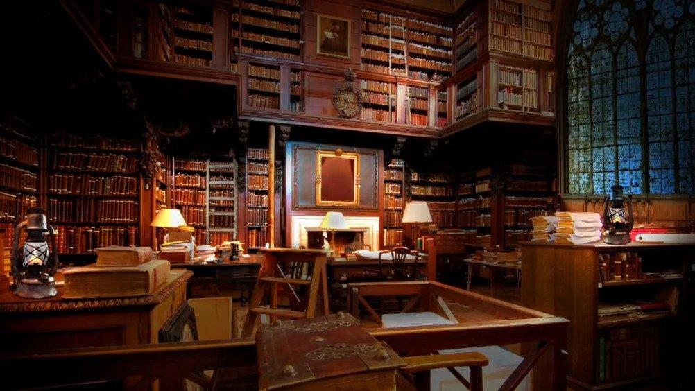 《哈利·波特》白噪音 / 霍格沃茨图书馆